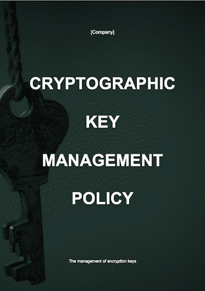Cryptographic Key Management Policy