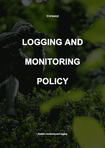 Logging and Monitoring Policy