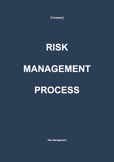 Risk Management document template
