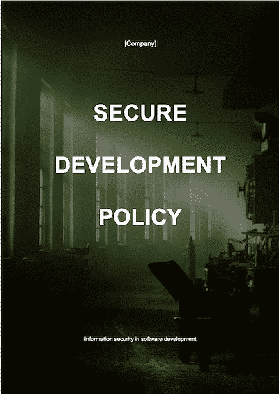 Secure Development Policy
